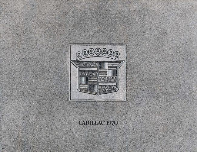 1970 Cadillac brochure cover