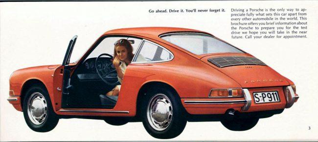67 Porsche 911 brochure