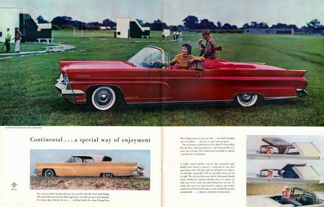 1959 Lincoln brochure