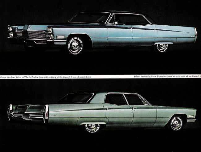68 Cadillacs
