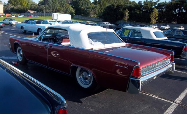 1961 Continental convertible